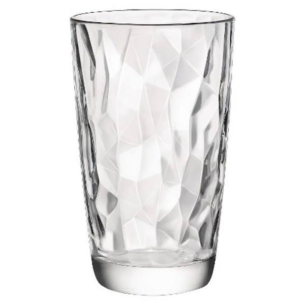 ست لیوان بورمیولی مدل Diamond بسته 6 عددی