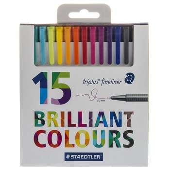 روان نویس 15 رنگ استدلر مدل Triplus Brilliant Colours