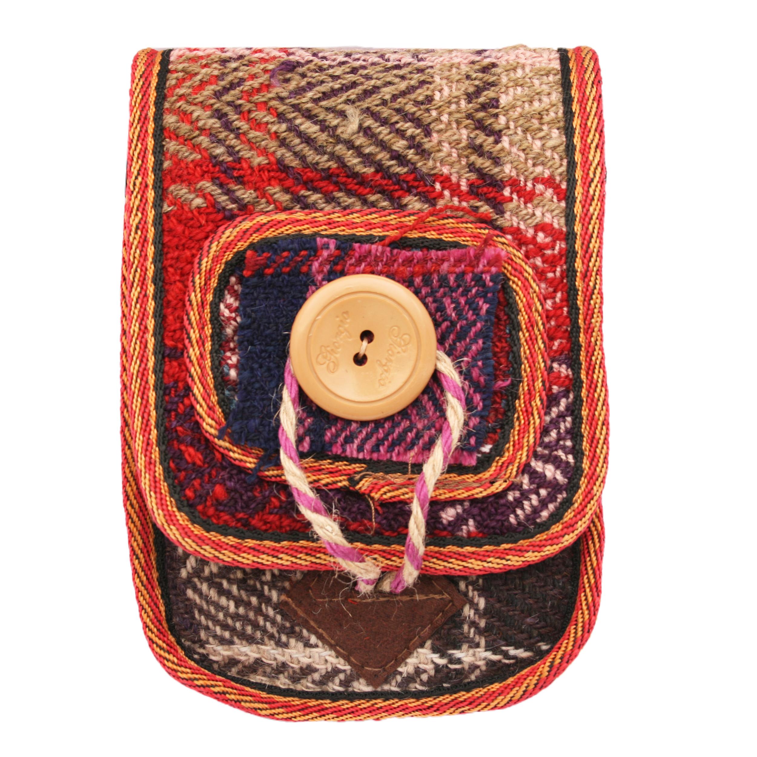 کیف دوشی زنانه طرح سنتی مدل 001
