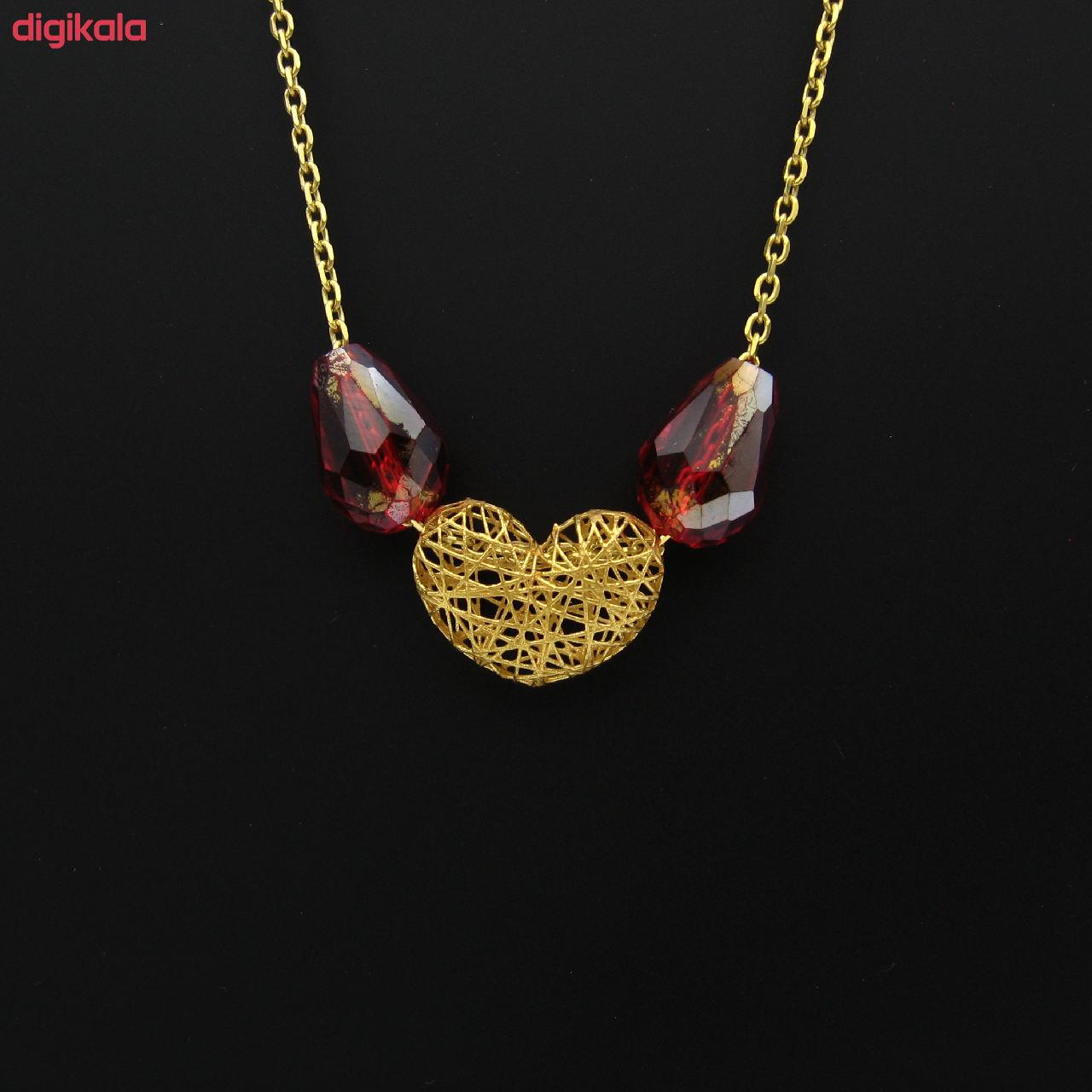 گردنبند طلا 18 عیار زنانه مانچو کد sfgs008 main 1 3