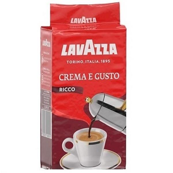 قهوه لاوازا مدل Ricco حجم 250 گرم