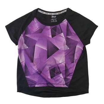 تی شرت  ورزشی زنانه کرویت مدل FS9910309