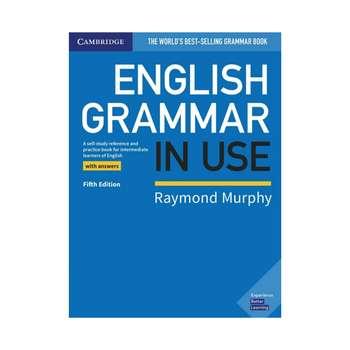کتاب English Grammar in Use Intermediate 5th اثر Raymond Murphy انتشارات کمبریج