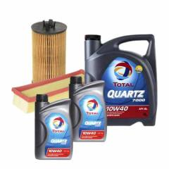 بسته تعویض روغن خودرو مدل OILAND-12 مناسب برای دنا