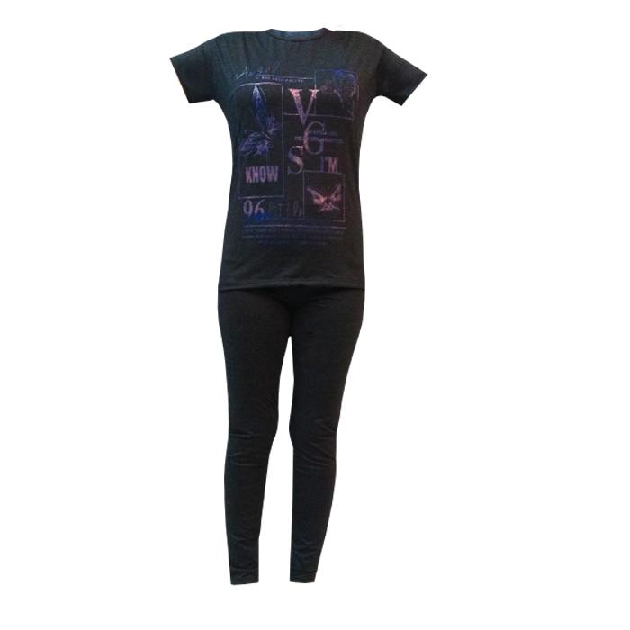 خرید                                      ست تی شرت وشلوار زنانه مدل 20_30