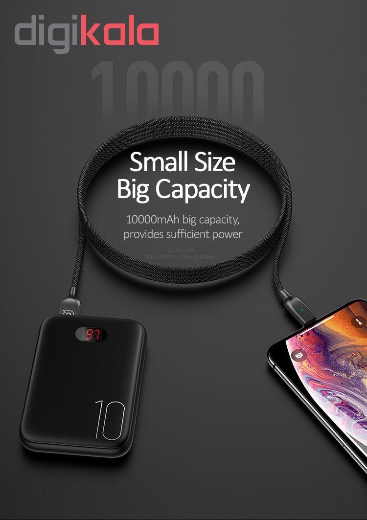 پاور بانک یوسمز مدلpower bank PB9 Mini با ظرفیت 10000میلی آمپر ساعت main 1 7