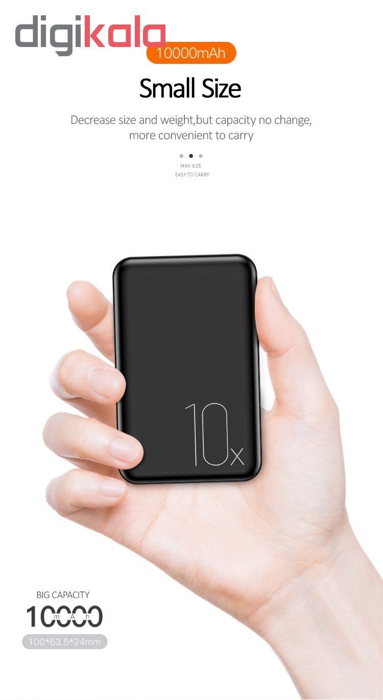 پاور بانک یوسمز مدل PB10 Mini ظرفیت 10000میلی آمپر ساعت main 1 6