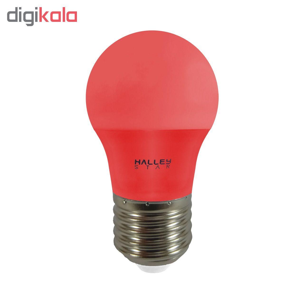 لامپ ال ای دی 3 وات هالی استار کد B45 رنگی پایه E27  main 1 1