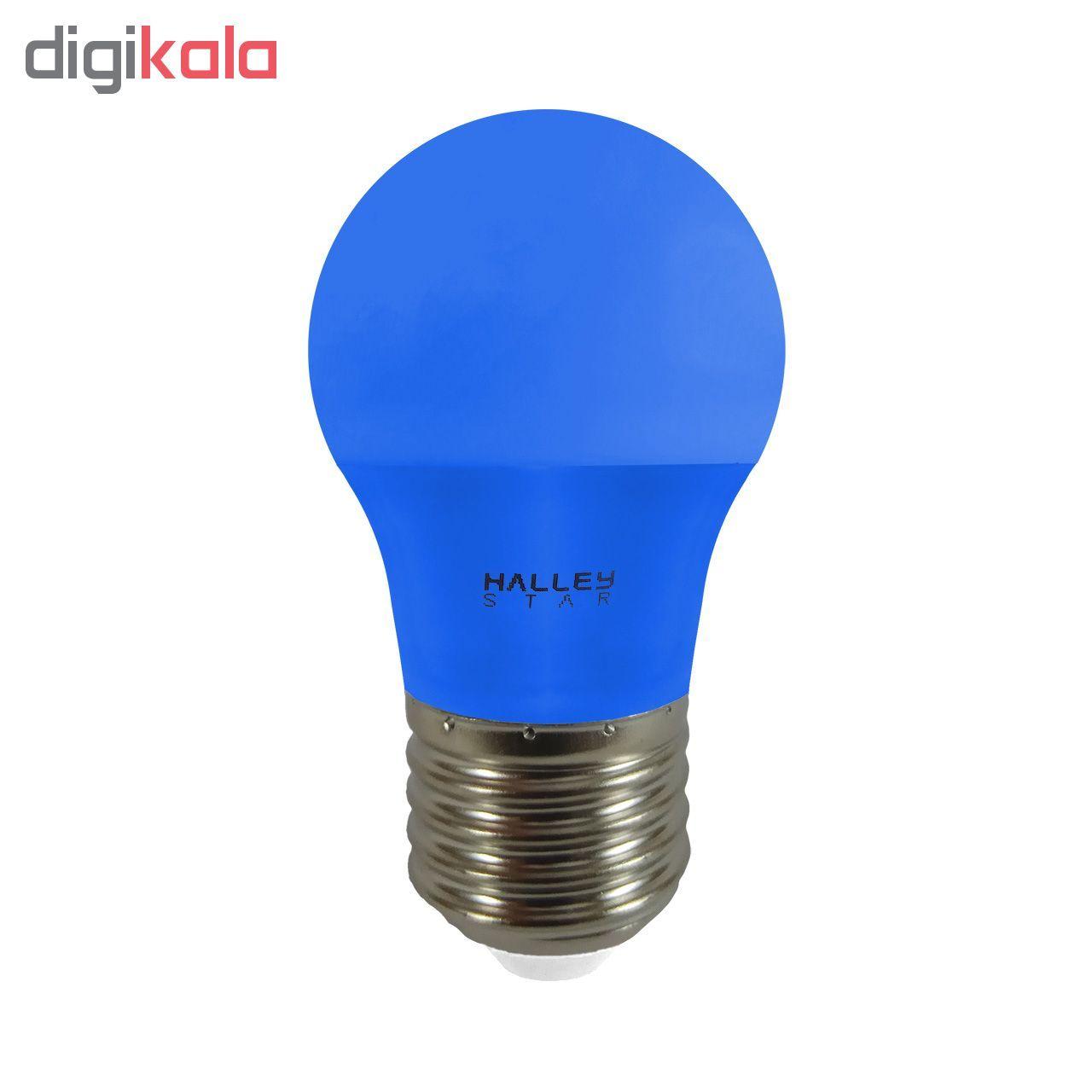 لامپ ال ای دی 3 وات هالی استار کد B45 رنگی پایه E27  main 1 2