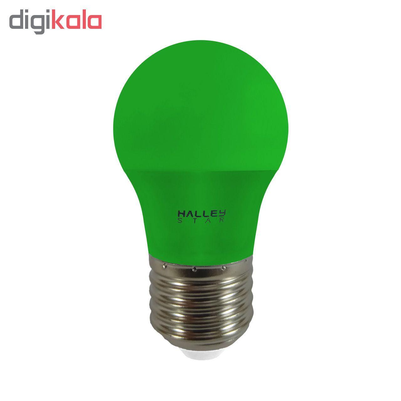 لامپ ال ای دی 3 وات هالی استار کد B45 رنگی پایه E27  main 1 3