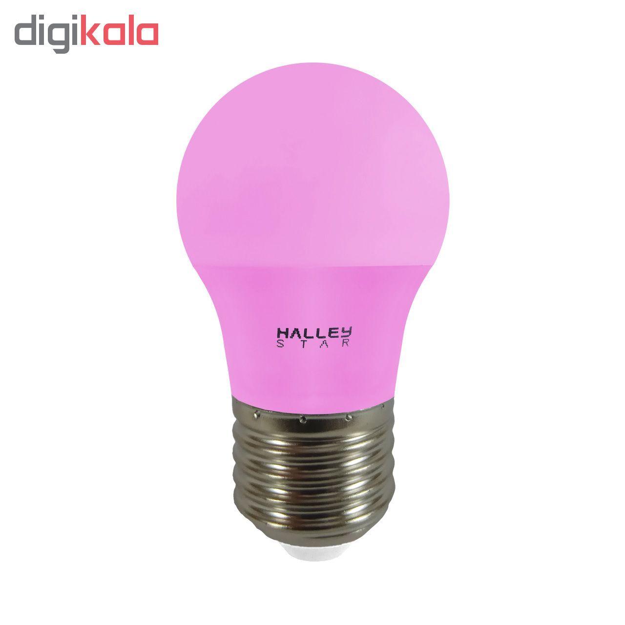 لامپ ال ای دی 3 وات هالی استار کد B45 رنگی پایه E27  main 1 5