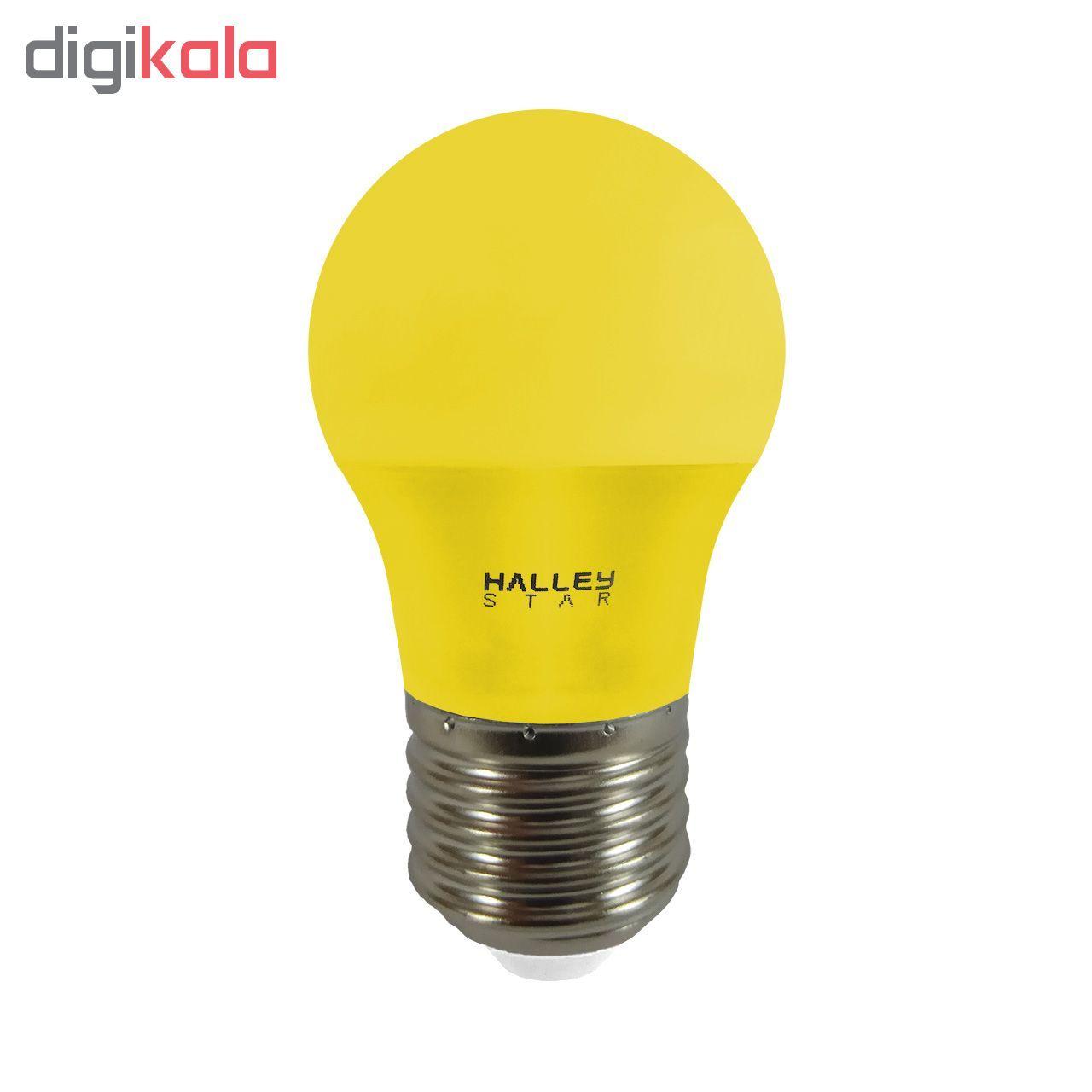 لامپ ال ای دی 3 وات هالی استار کد B45 رنگی پایه E27  main 1 6