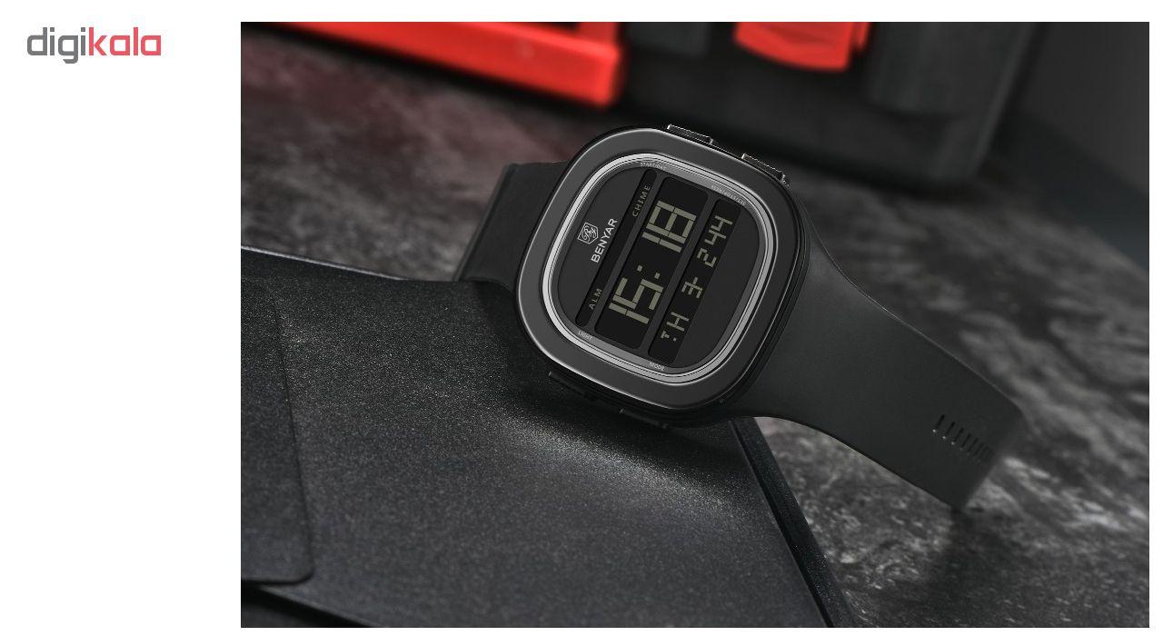 خرید ساعت مچی دیجیتالی  بنیار مدل 8001M