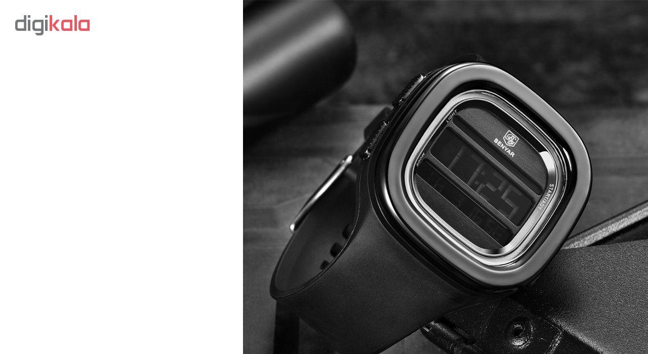 ساعت مچی دیجیتالی  بنیار مدل 8001M
