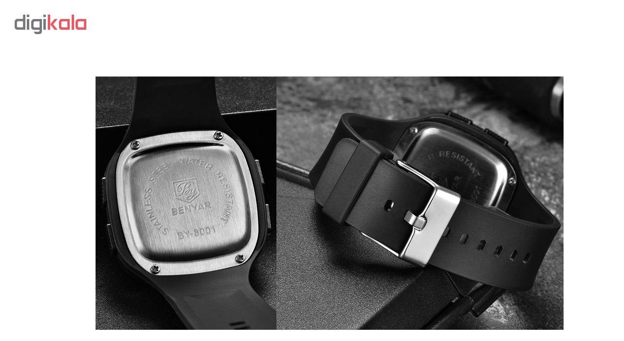 ساعت مچی دیجیتالی  بنیار مدل 8001M             قیمت