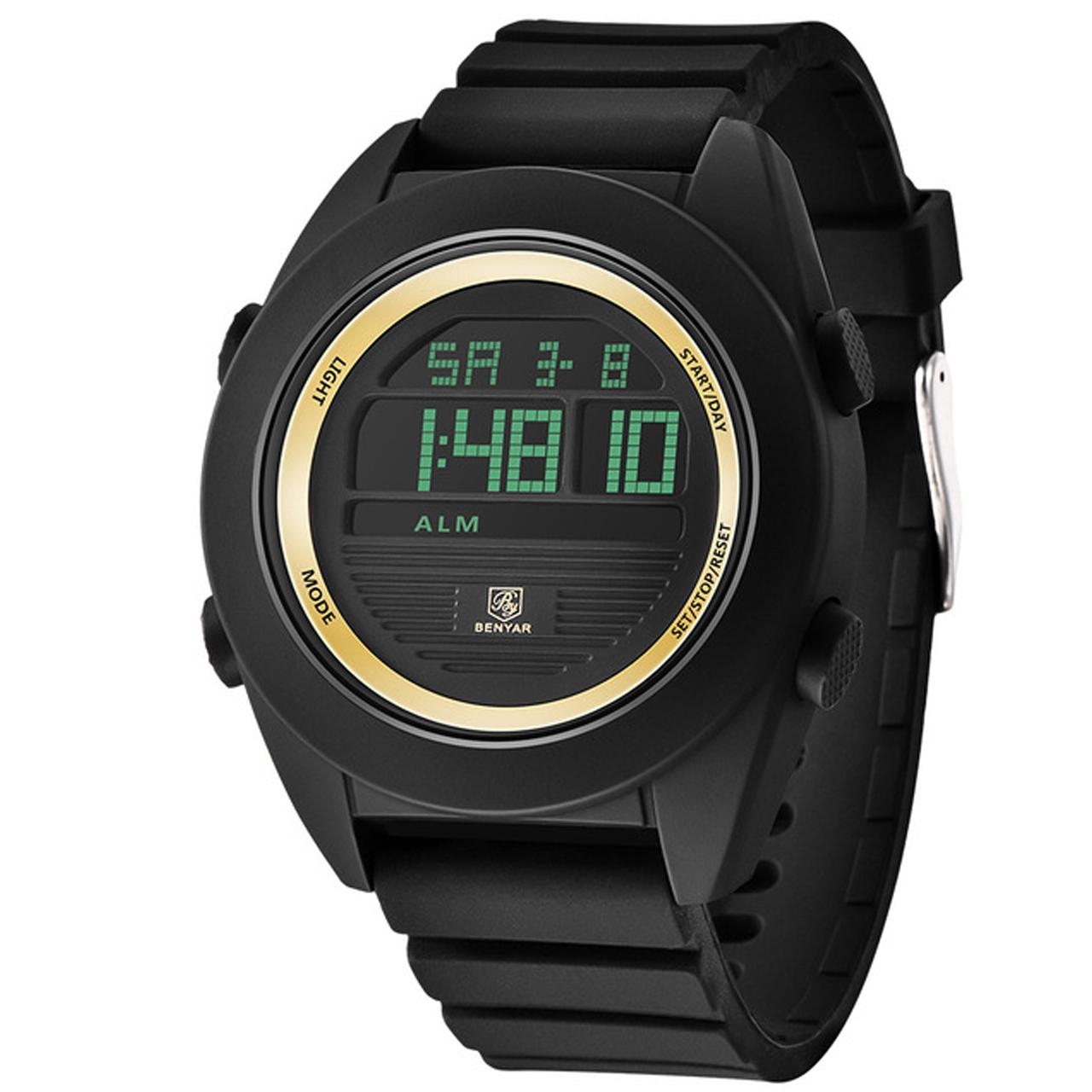 ساعت مچی دیجیتالی مردانه بنیار مدل 8002G 16