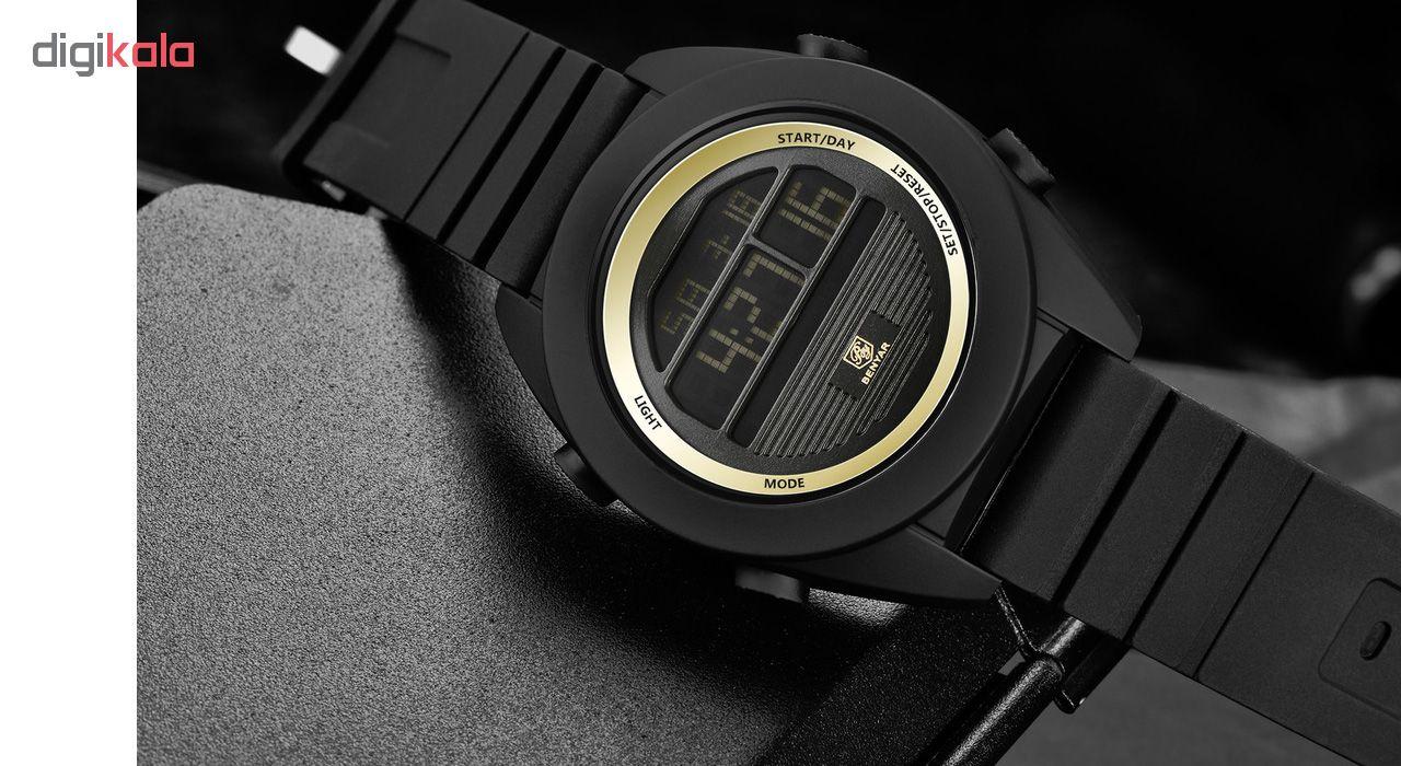 خرید ساعت مچی دیجیتالی مردانه بنیار مدل 8002G