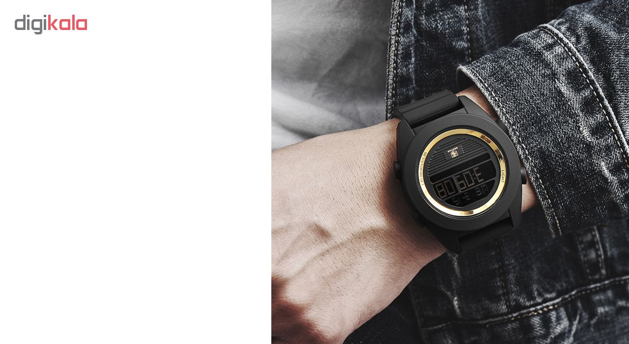 ساعت مچی دیجیتالی مردانه بنیار مدل 8002G