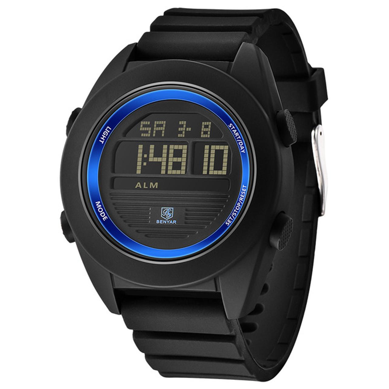 ساعت مچی دیجیتالی مردانه بنیار مدل 8002A 34