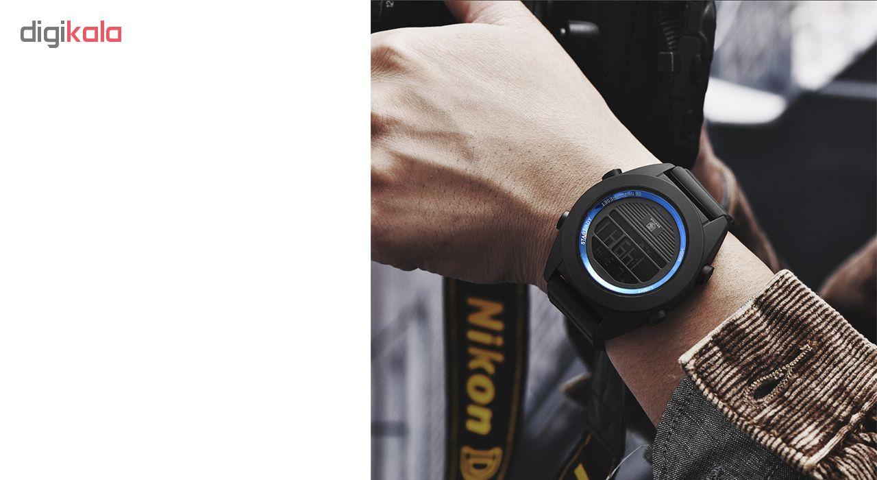ساعت مچی دیجیتالی مردانه بنیار مدل 8002A             قیمت