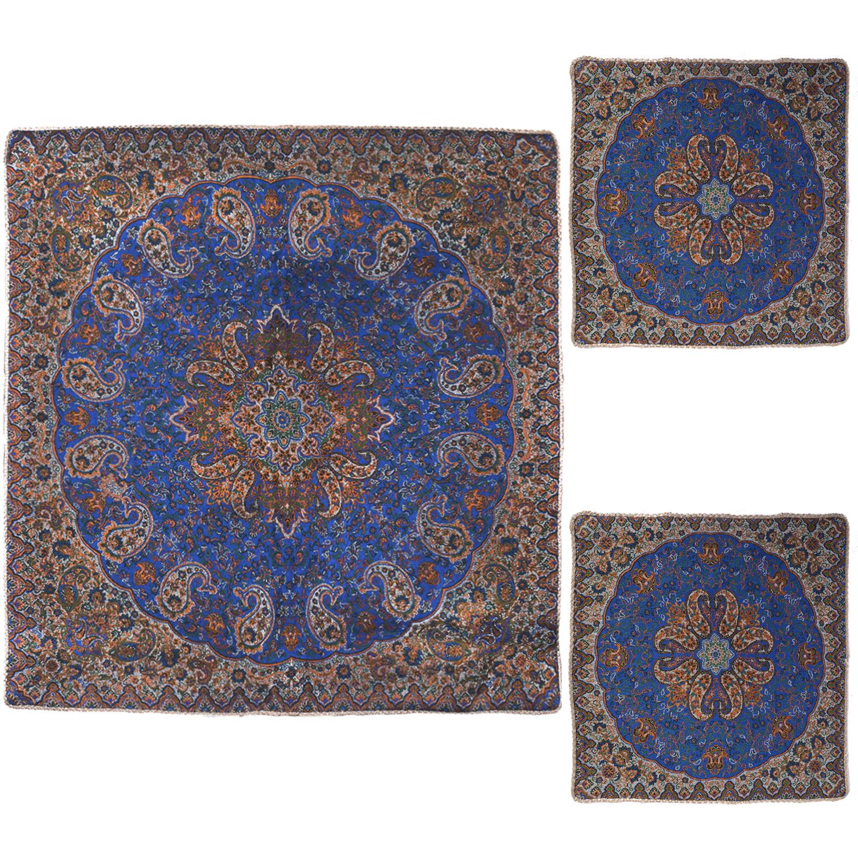رومیزی ترمه مدل FIROZEHE3/3 مجموعه سه عددی