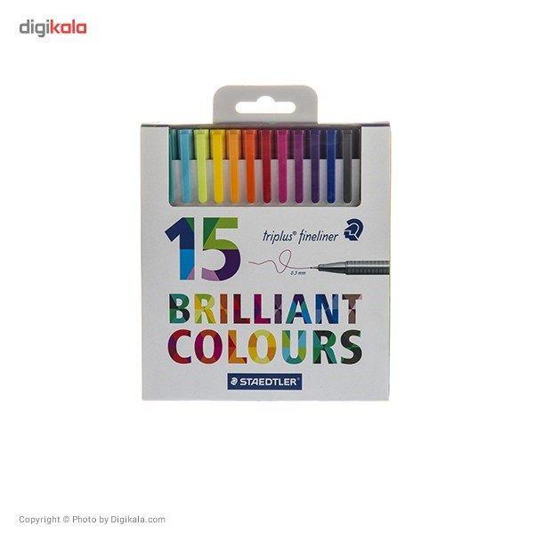 روان نویس 15 رنگ استدلر مدل Triplus Brilliant Colours main 1 1