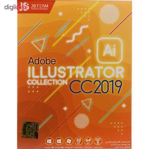 مجموعه نرم افزاری Adobe illustrator CC 2019 نشر جی بی تیم