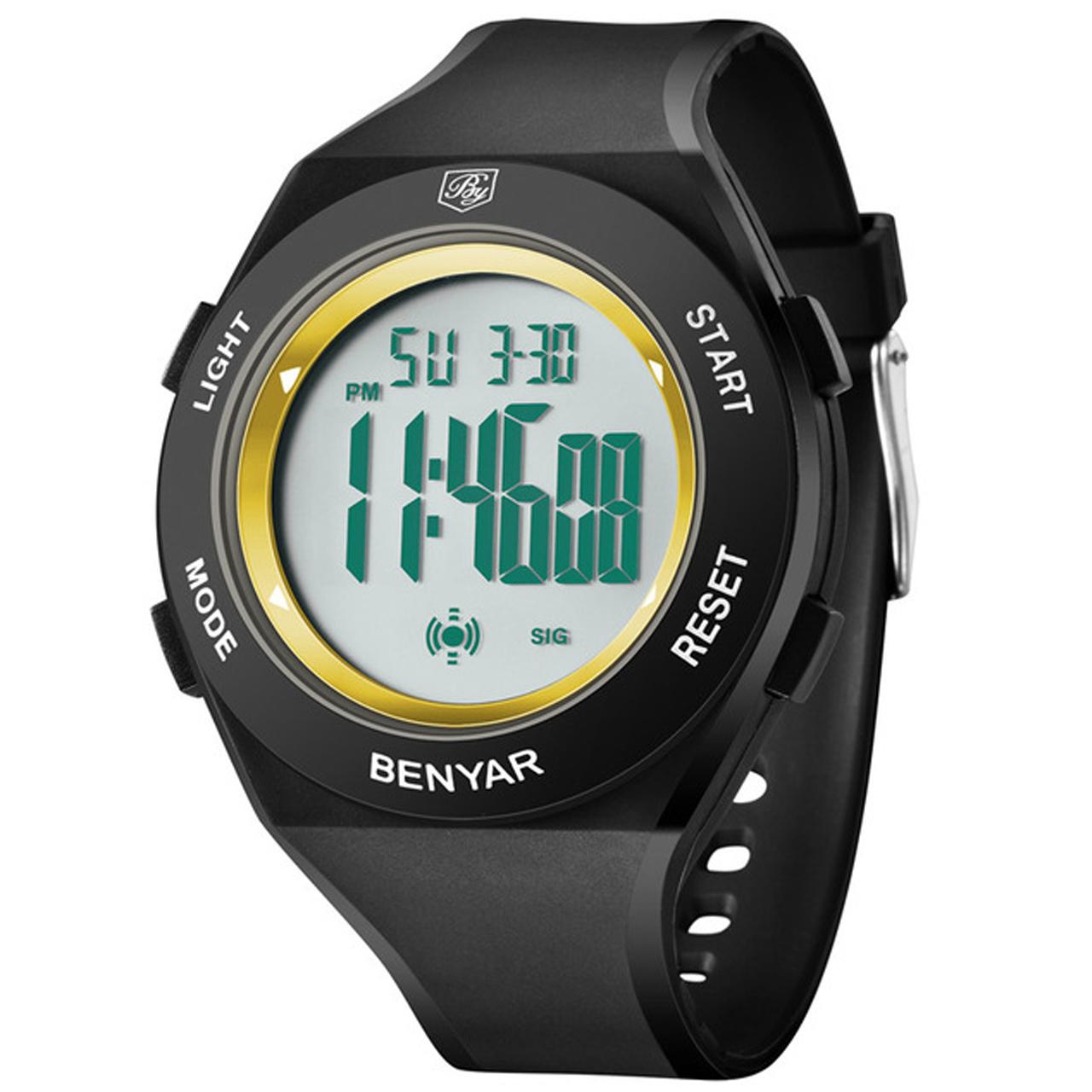 ساعت مچی دیجیتالی مردانه بنیار مدل 8003G 10