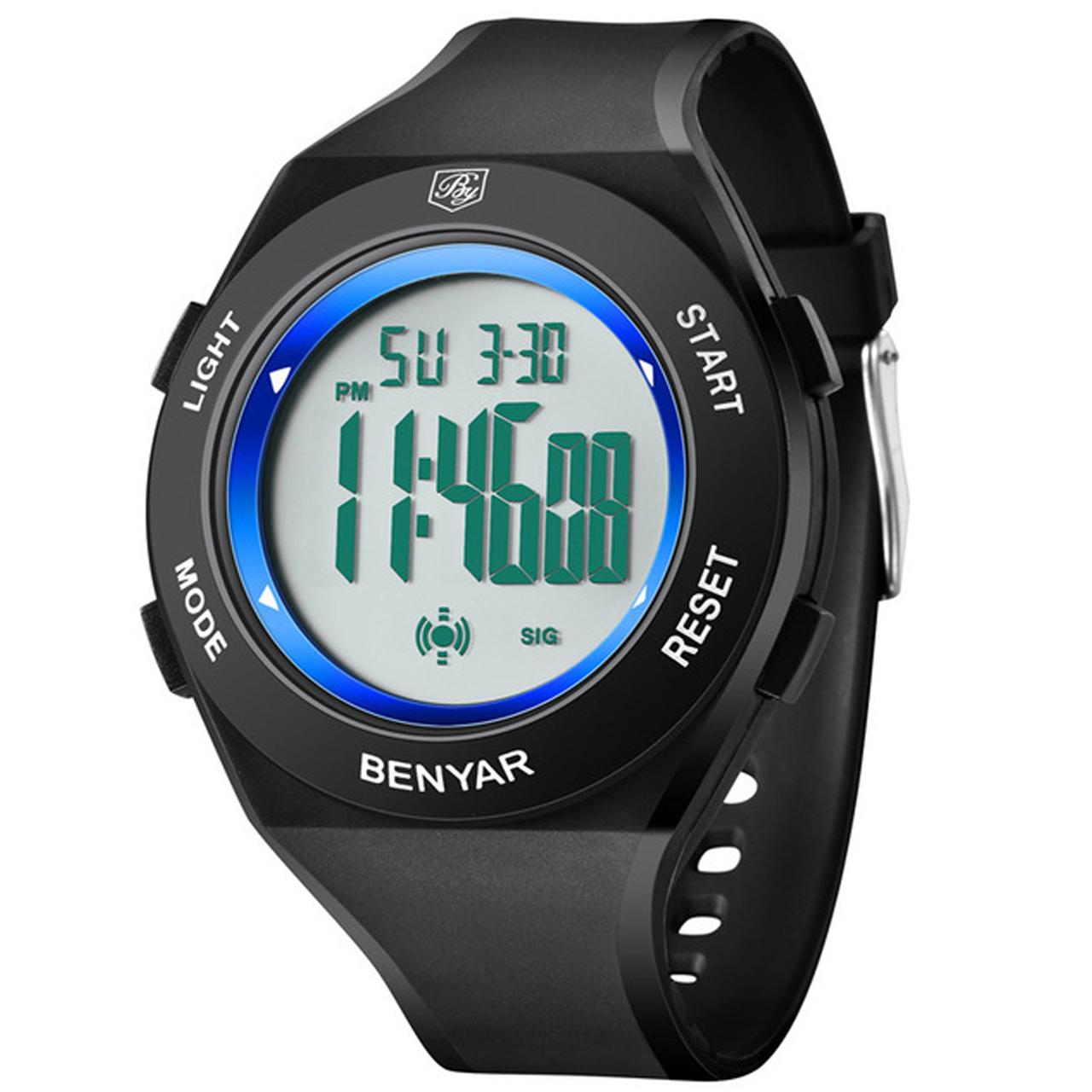ساعت مچی دیجیتالی مردانه بنیار مدل 8003A 52
