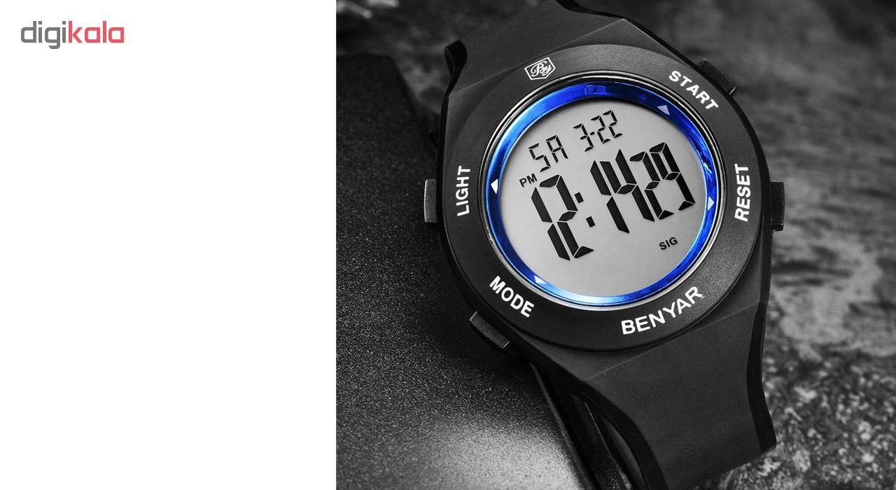 کد تخفیف                                      ساعت مچی دیجیتالی مردانه بنیار مدل 8003A