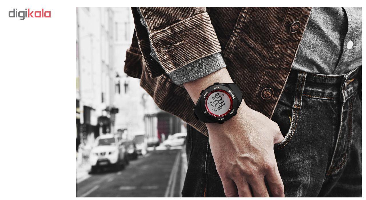 ساعت مچی دیجیتالی مردانه بنیار مدل 8003R             قیمت