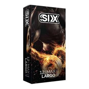 کاندوم سیکس مدل Super Largo بسته 12 عددی