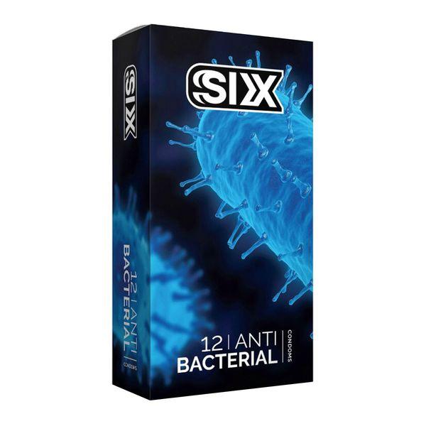 کاندوم سیکس مدل Anti Bacterial بسته 12 عددی