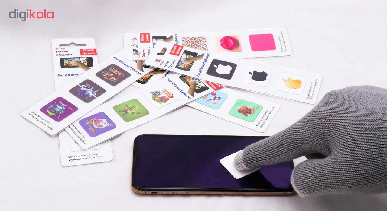 پد پاک کننده صفحه نمایش لوکین طرح دخترانه مجموعه بسته 3 عددی