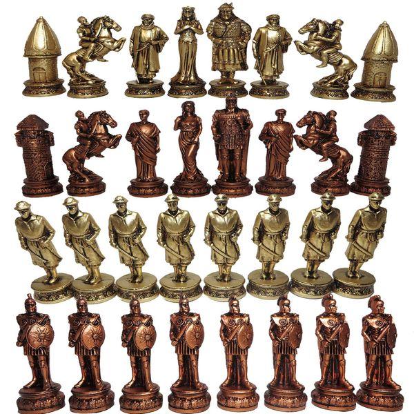 ست مهره شطرنج مدل E02