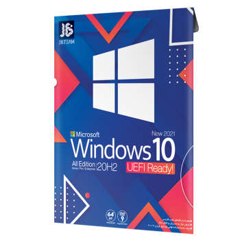 سيستم عامل Windows 10 UEFI Ready 20H2 2009 نشر جي بي تيم