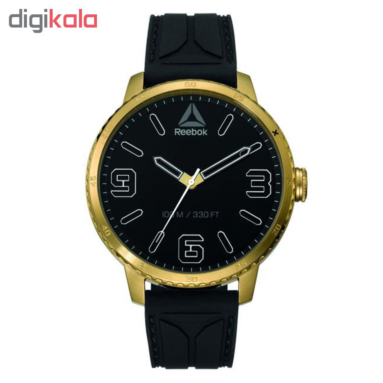 خرید ساعت مچی عقربه ای مردانه ریباک مدل RD-STE-G2-S2IB-BW