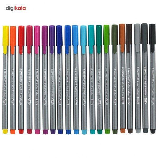 روان نویس 15 رنگ استدلر مدل Triplus Brilliant Colours main 1 4