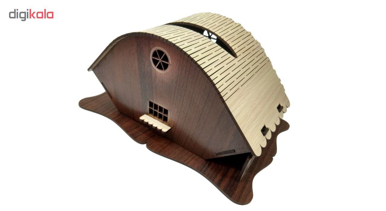 جعبه دستمال کاغذی مدل مزرعه