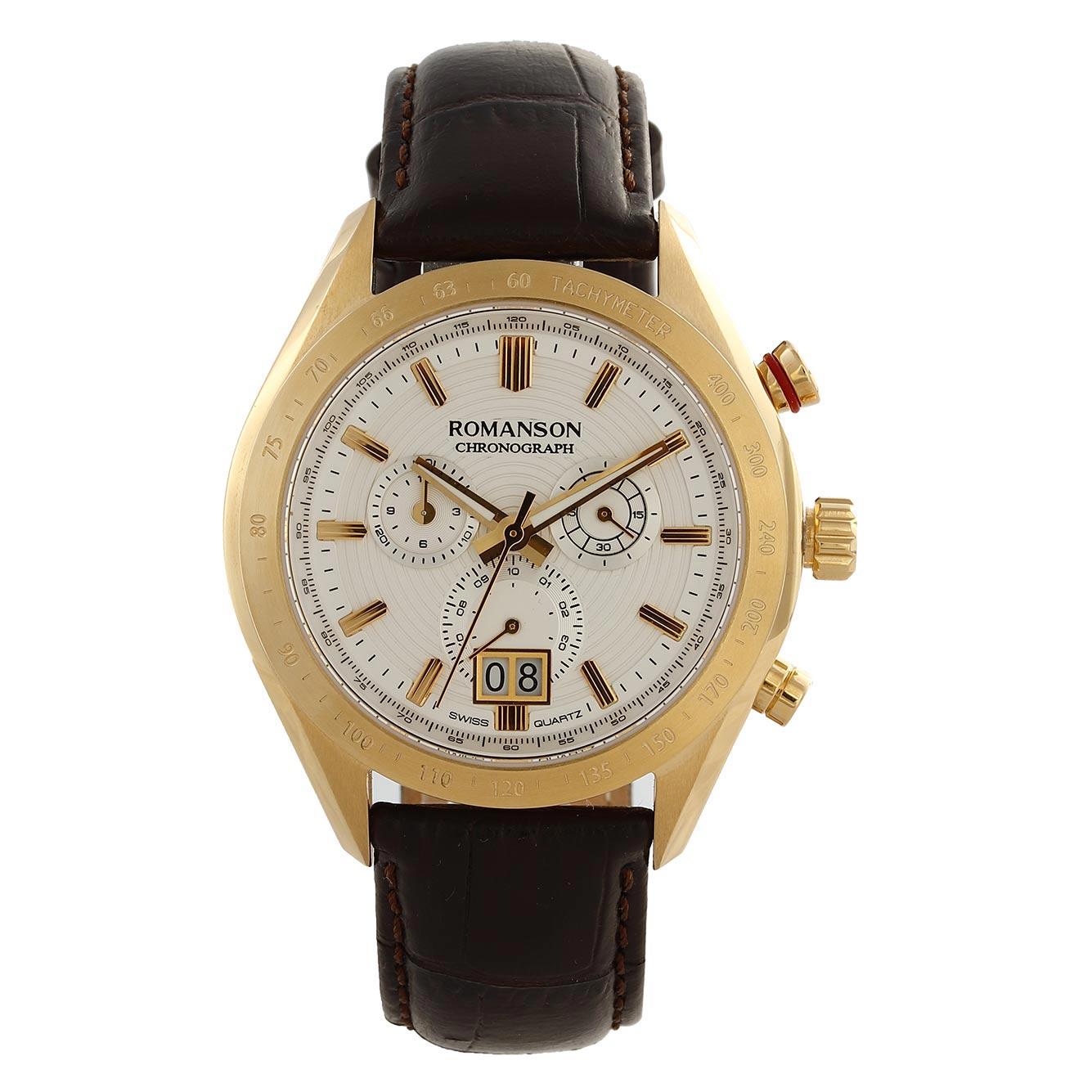 ساعت مچی عقربه ای مردانه رومانسون مدل AL6A06HMNGA1R5