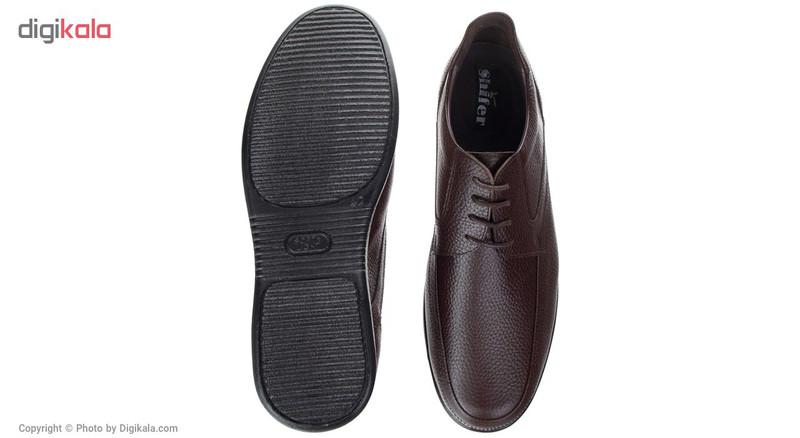 کفش مردانه شیفر مدل 7193B-BR