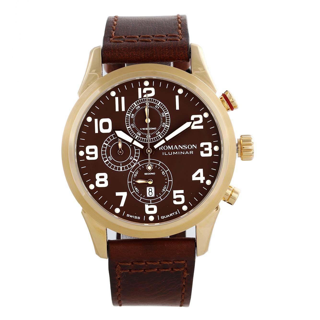 کد تخفیف                                      ساعت مچی عقربه ای مردانه رومانسون مدل AL6A14HMNGABR5