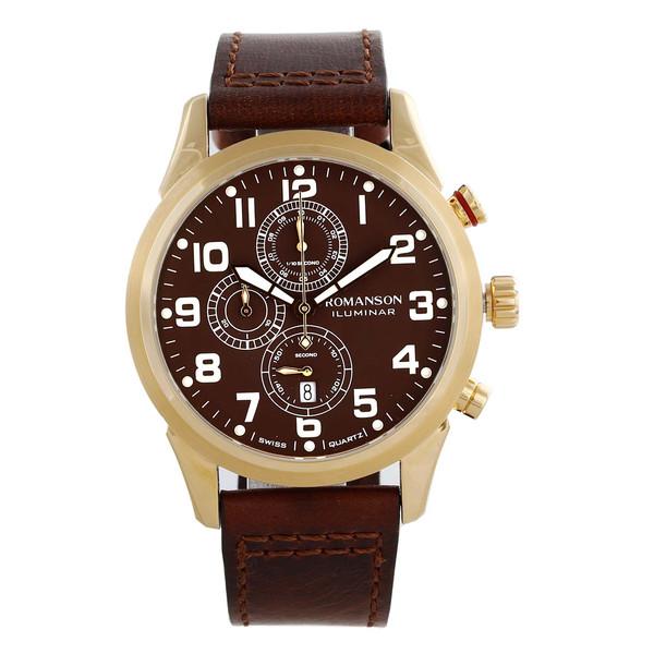 ساعت مچی عقربه ای مردانه رومانسون مدل AL6A14HMNGABR5