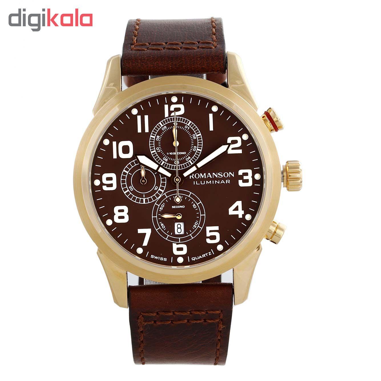 خرید ساعت مچی عقربه ای مردانه رومانسون مدل AL6A14HMNGABR5