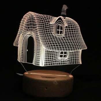 چراغ خواب ای پلاس دیزاین طرح خانه فانتزی  