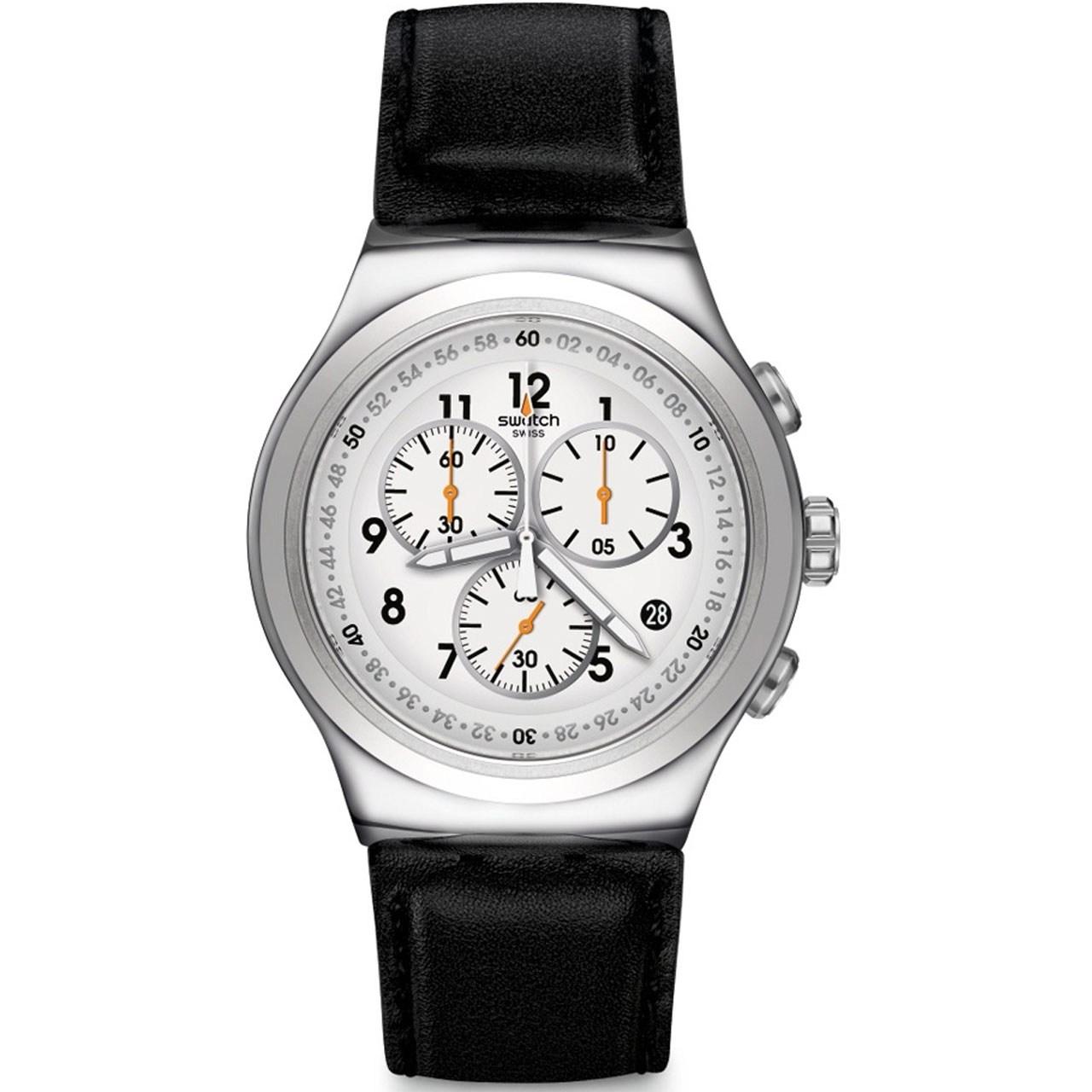 ساعت مچی عقربه ای مردانه سواچ مدل YOS451 46