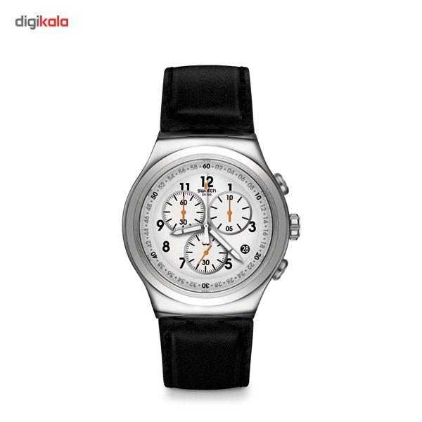 خرید ساعت مچی عقربه ای مردانه سواچ مدل YOS451
