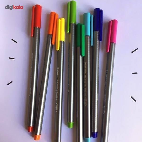 روان نویس 15 رنگ استدلر مدل Triplus Brilliant Colours main 1 5