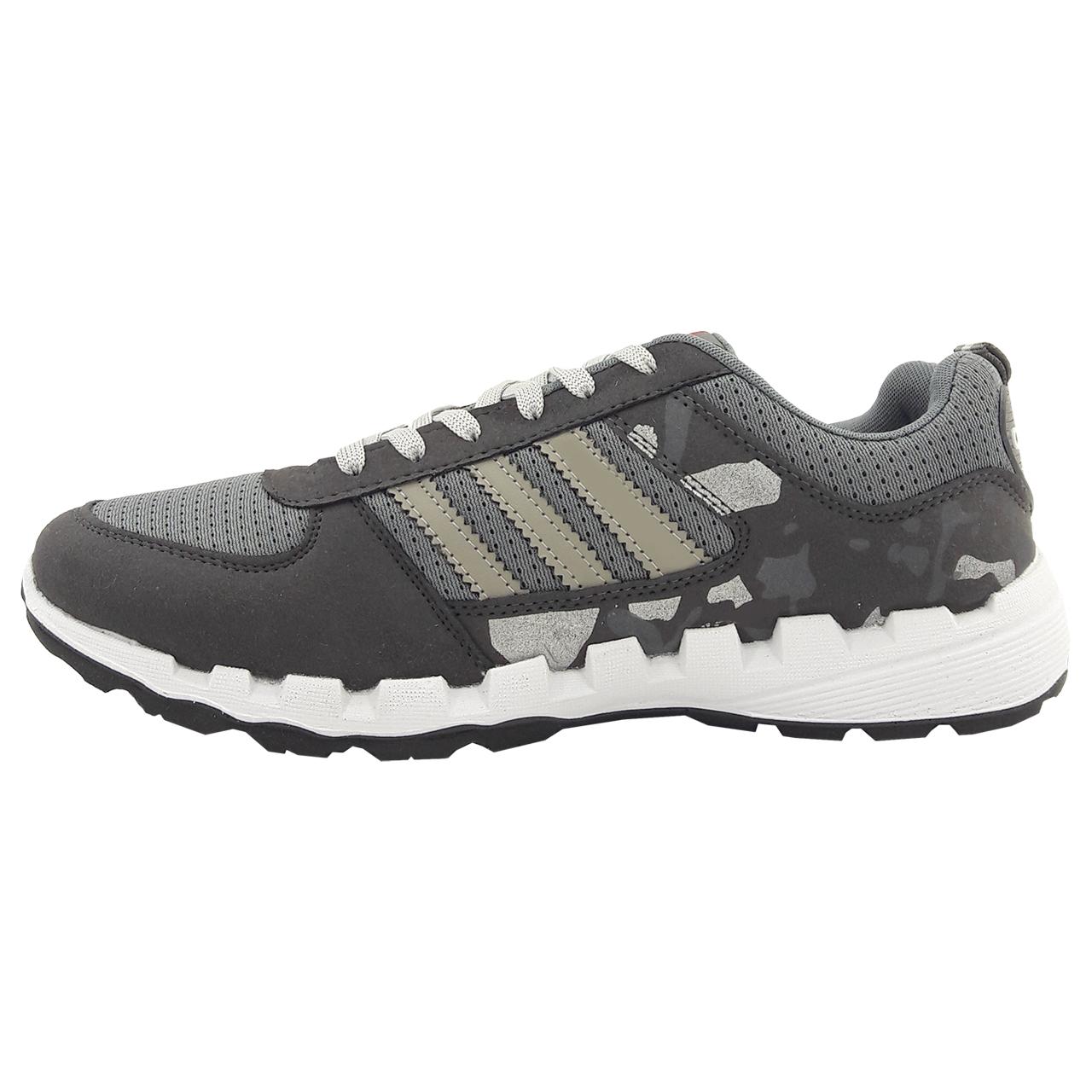 کفش راحتی مردانه ایده آل مدل Army gry01