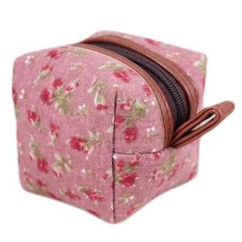 کیف لوازم آرایش طرح شکوفه کد M27 |